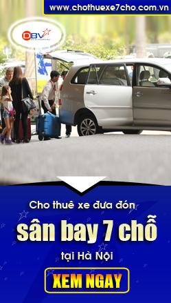 cho thue xe 7 cho san bay