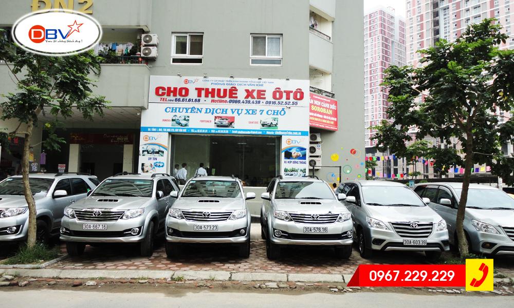 Hỏi tìm công ty cho thuê xe 7 chỗ uy tín tại Hà Nội?