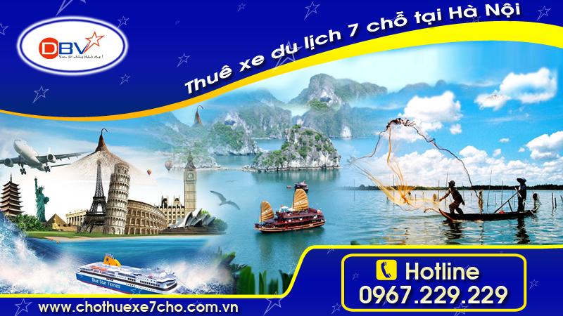 Cho thuê xe du lịch 7 chỗ có lái giá rẻ tại Thanh Xuân - Hà Nội