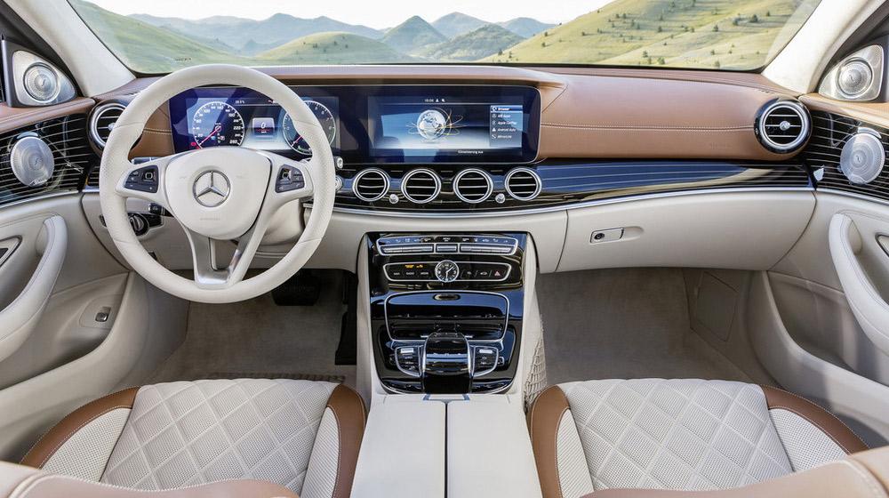 Rò rỉ giá bán Mercedes-Benz E-Class 2016